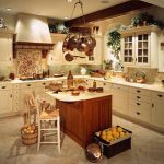 Wonderful Orange And Brown Kitchen Decor Of Country Style Decorating Ideas For Walls
