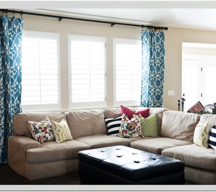 Wonderful What To Put In Front Of A Bay Window Of Interiordrapery Ideas For Curtain Ideas For Interioresign
