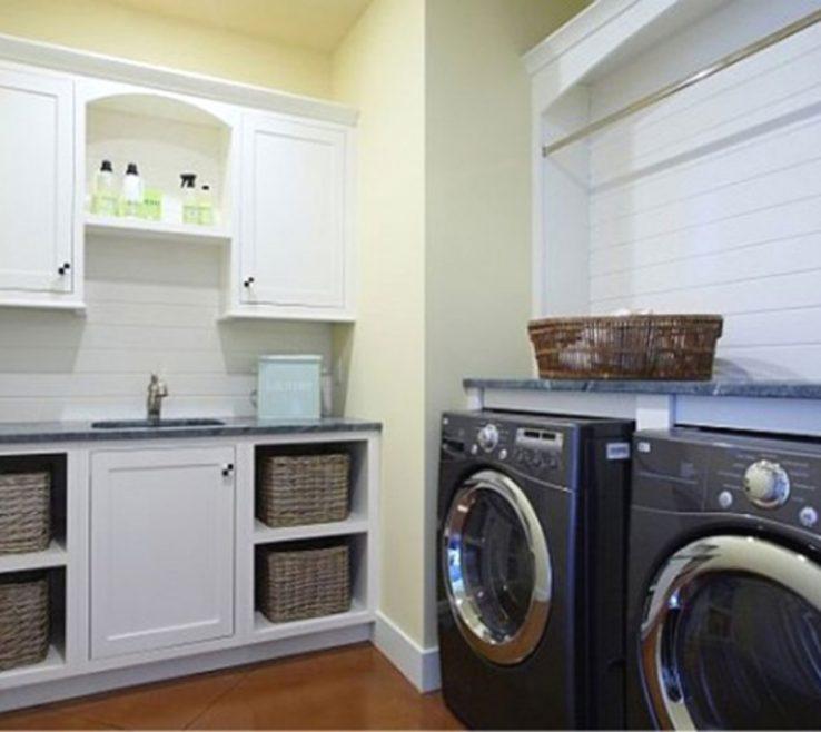 Adorable Modern Laundry Room Decor Of Ideas