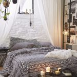 Alluring Bed On The Floor Ideas Of Bohemian Bedroom