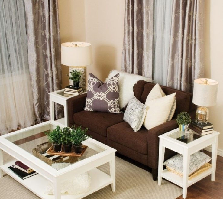 Alluring Brown Furniture Living Room Of Innovative Ideas And Cream Cream White