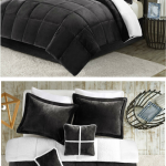 Alluring Dark Grey Bedding Sets Of Super H Charcoal Set Fits The Monochromatic