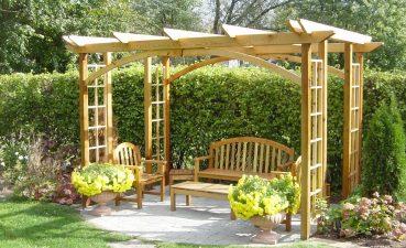 Alluring Outdoor Garden Structures