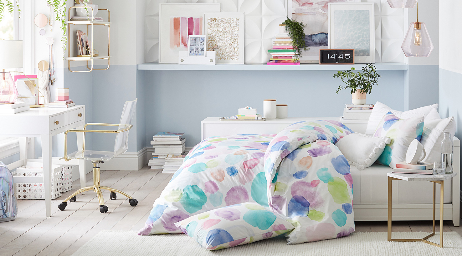 Alluring Paint Colors For Teenage Girl Room Of Kids Rooms Acnn Decor