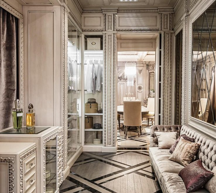 Art Deco Interior Design Of Neoclassical And Features In Two Interiors