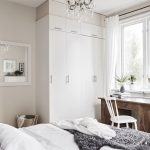 Artistic Swedish Decorating Ideas Of Scandinavian Bedroom Small Workspace Table