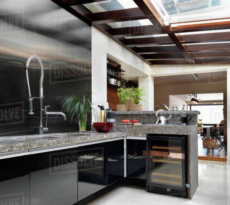 Astonishing Modern Skylights Of Kitchen