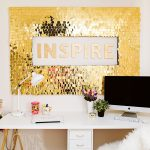 Astonishing Walls Decoration Ideas Of Wall Decorating With Sequins