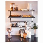Attractive Wall Mounted Kitchen Shelf Of Pallet Rack Shelving Metal Shelves Mount Shelves