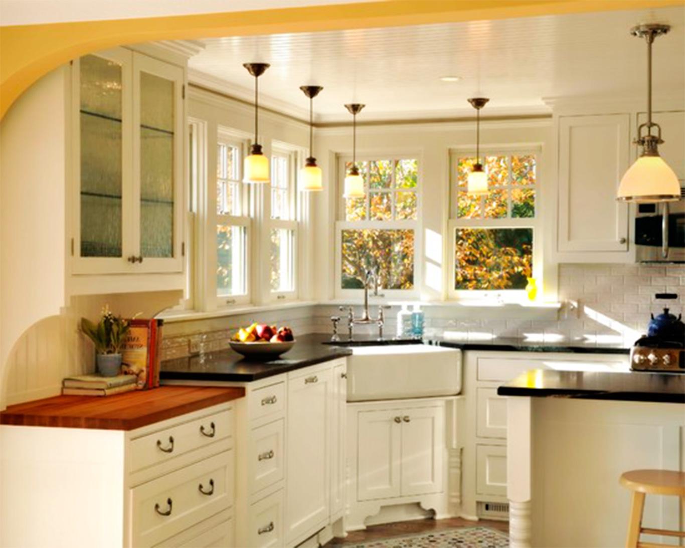 Beautiful Corner Kitchen Sink Pictures Acnn Decor