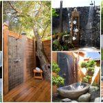 Beautiful Outdoor Shower Floor Ideas
