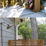 Beautiful Outdoor Shower Floor Ideas Of One Panel Enclosure