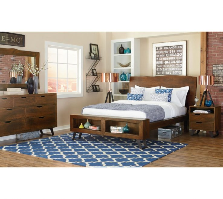 Bed Trends Of London Loft King Bedroom Set