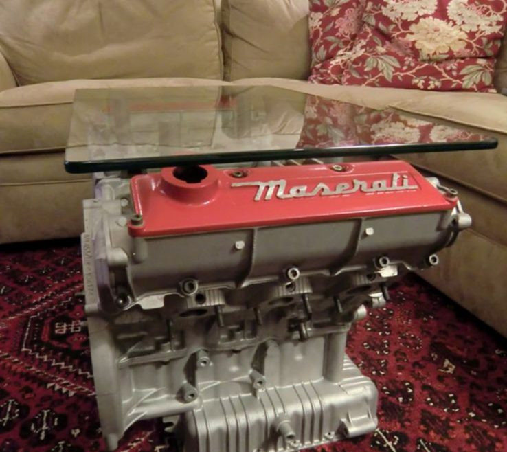 Brilliant Furniture From Car Parts Of Engine Old Part Coffee Table