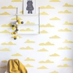 Brilliant Kids Room Wallpaper Ideas Of Clouds Discover Here The Sweet Collection