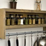 Brilliant Wall Mounted Kitchen Shelf