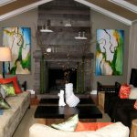Brown And Orange Decor Of Accents