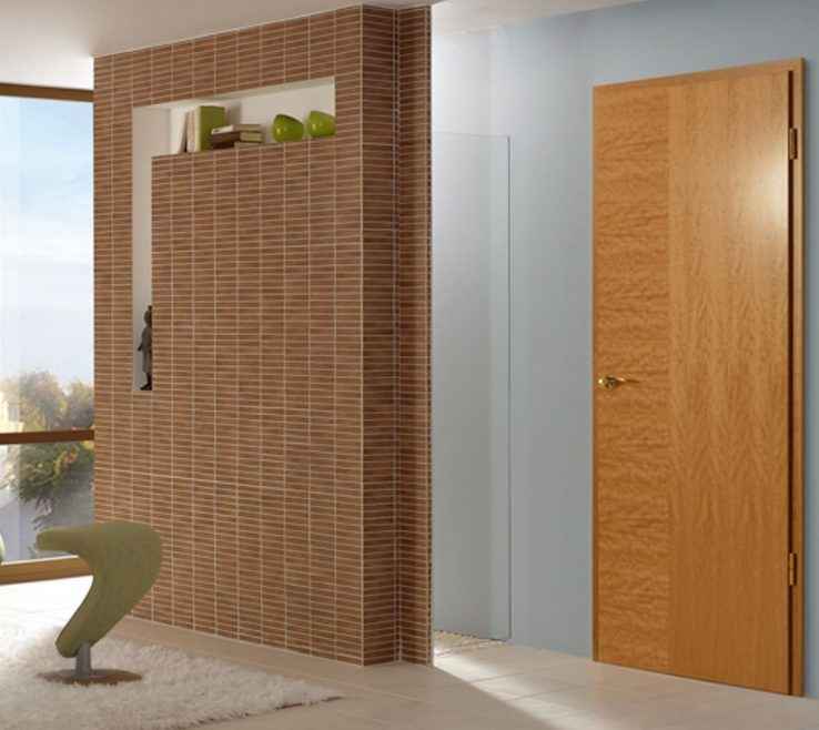 Captivating Cherry Doors Of Modern Interior Bespoke