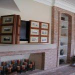 Captivating Hide Tv On Wall Of Living Room Hidden Tv Easy Decorative Ways