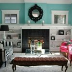 Captivating Turquoise Living Room Ideas Of Roombrown And Rugs Gallery Decorating