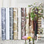 Captivating Vintage Kitchen Decals Of cm Retro Tiles Waterproof Vinyl Wall Stickers