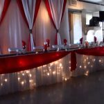 Charming Brown And Orange Decor Of Beautiful Orange White Red Wedding By Luxe
