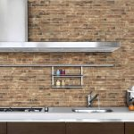 Charming Designer Wall Accents Of Brick Stone Walls Kitchen Style Sandstone