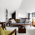 Charming Modern Decorating Living Room Of Mid Century Interior Design