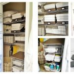 Closets Organization Ideas Of Linen Closet Dollar Tree Target