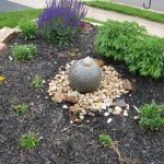 Cool Fountain For Front Yard Of Vanishing Globe