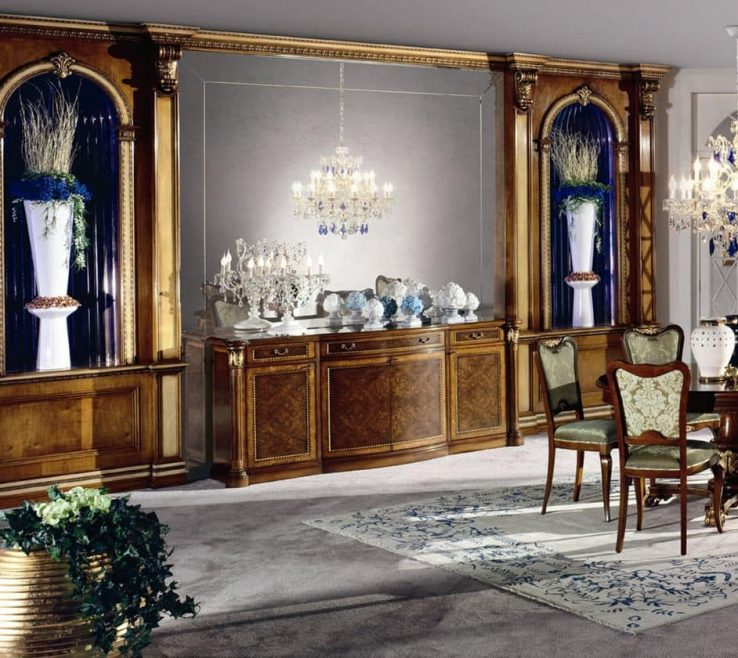 Cool Luxury Wall Panels Of Boiserie With Niches Wainscoting Of Plywood Solid