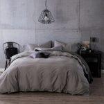 Dark Grey Bedding Sets Of Comforter Sets Plain Forter Luxury
