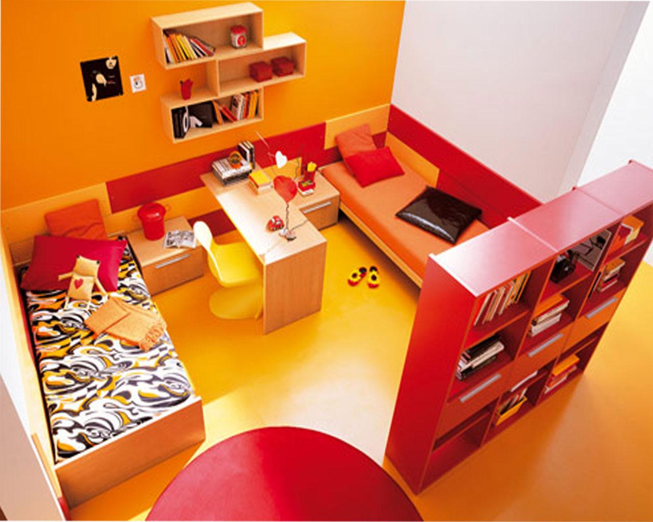 Orange And Yellow Bedroom Ideas Design Corral