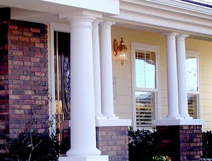 Decorative Indoor Columns Of Exterior