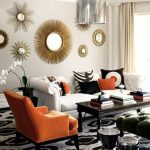 Designer Wall Accents Of Image Of Modern Round Mirror