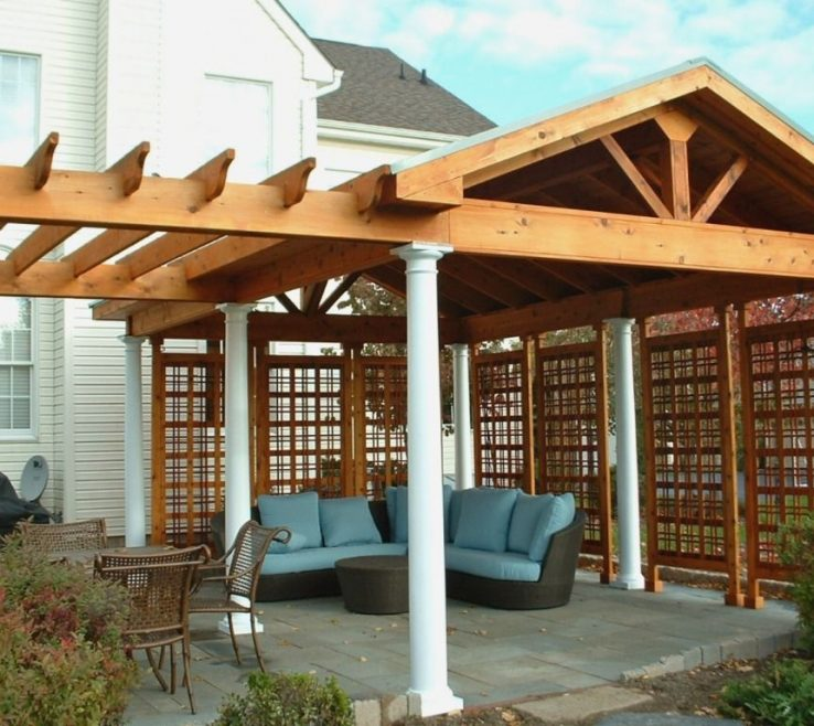 Do It Yourself Gazebo Kits Of Pergola Ideas Diy Plans L