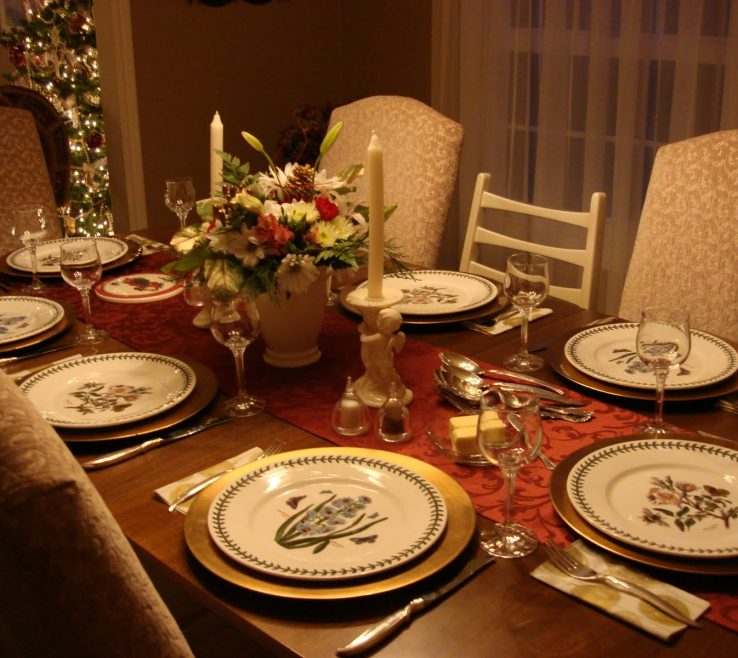 Elegant Decoration Of Table Of Decorating The Dining Room Must Read