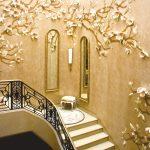 Elegant Walls Decoration Ideas Of Metallic Flower Wall