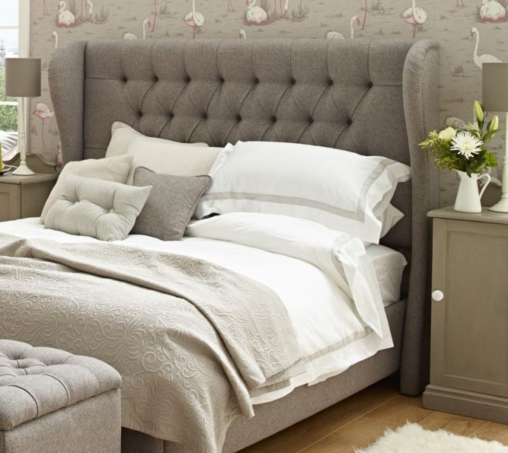 Enchanting Bed Alternatives Of King Size Tufted