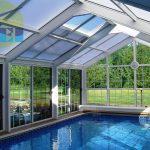 Enchanting Indoor Outdoor Pool Enclosure Of Enclosures Interior
