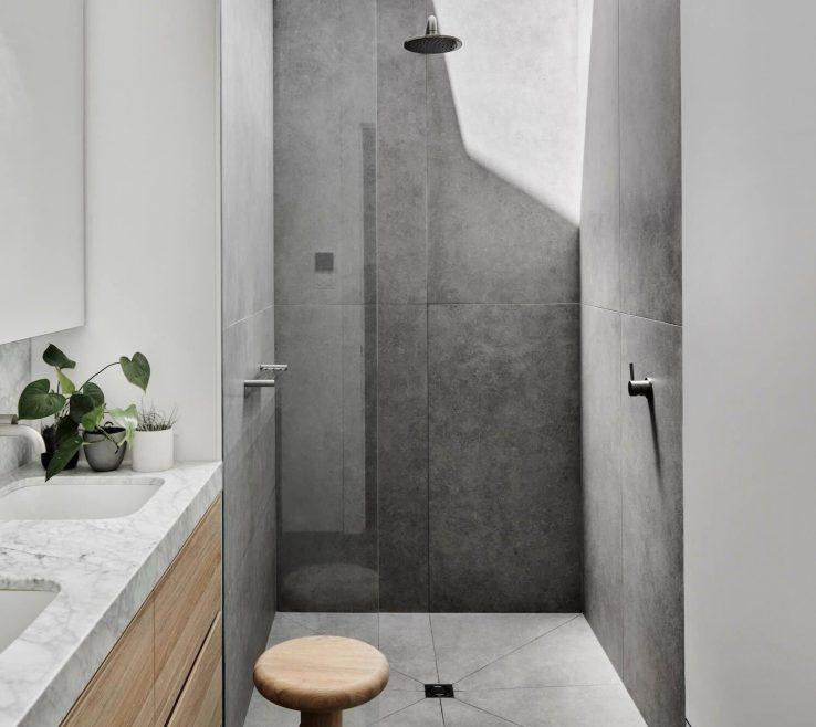 Enchanting Modern Bathroom Design Of Interview Pipkorn Andamp Kilpatrick Tiling Ensuite Bathrooms