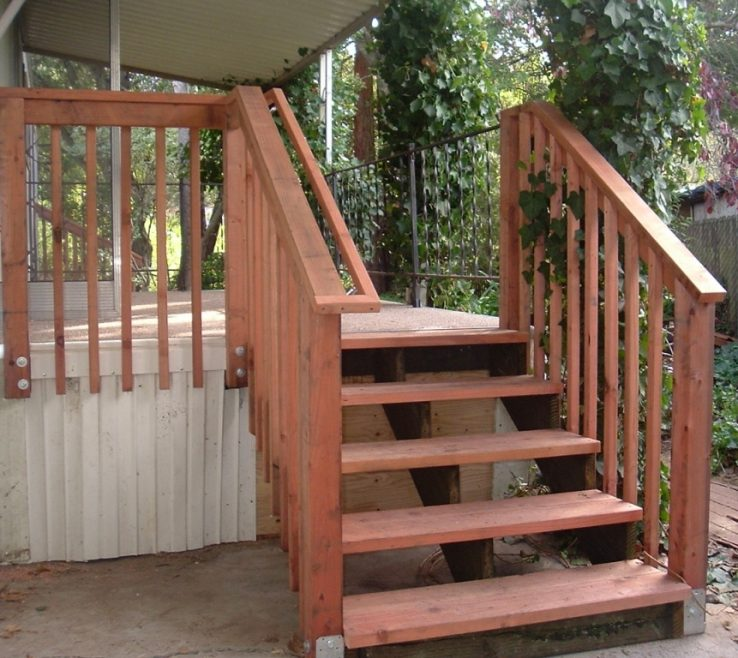 Enchanting Outdoor Stairs Ideas Of Deck Stair Handrail Designs Deck Stair Railing