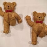 Endearing Home Interiors Kids Of Textured Bear Wall Hook Set