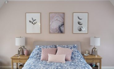 Endearing Pink And Grey Bedroom Decor Of Elegant Room Makeover Reveal A Beauty Junkie