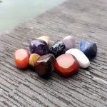 Enthralling Feng Shui Garden Decor Of Fengshui Parts Colorful Natural Stones Decoration Mini