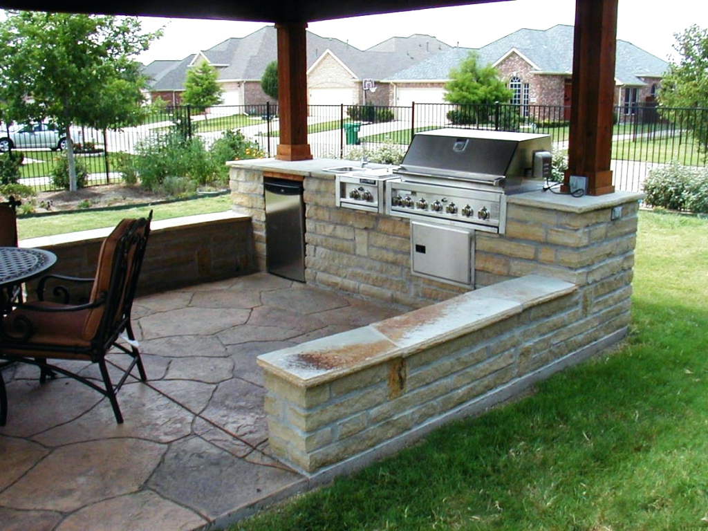 Entrancing Bbq Grill Design Ideas Of
