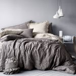 Entrancing Dark Grey Bedding Sets Of And Cream Bedding Love Bo