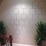 Entrancing Designer Wall Accents Of How To Create An Aluminum Tape Feature