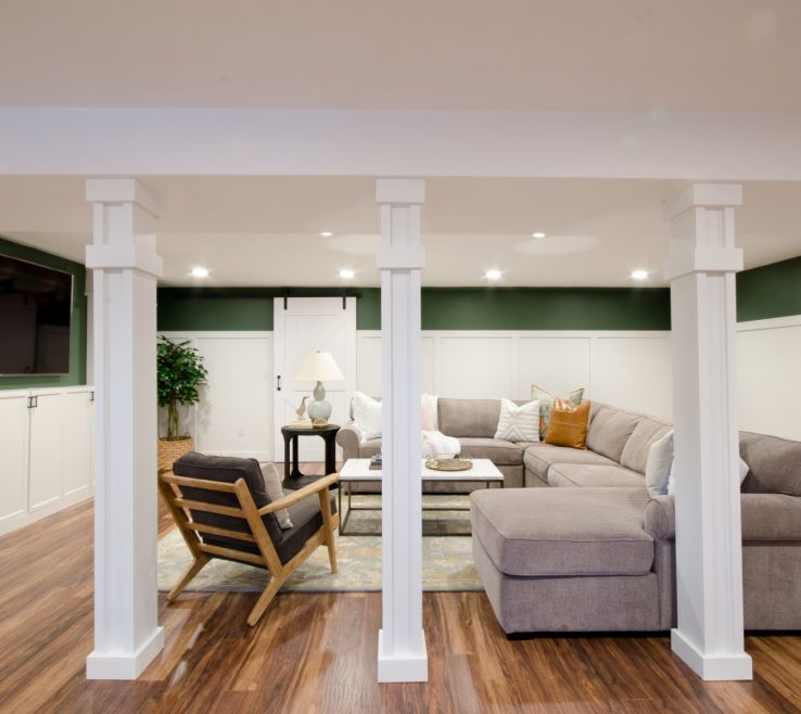 Entrancing Interior Support Columns Of How To Turn Poles Into An