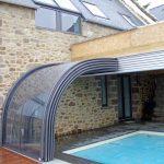 Exquisite Indoor Outdoor Pool Enclosure Of veranda Lean To By Tpec